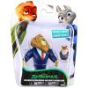 Tomy Zootropolis: Állati nagy balhé figurák - Mayor Lionheart és Lemming Businessman