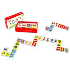 Tooky Toy Fa dominó: Közlekedés memóriajáték