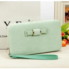 TOP Női pénztárca, borítéktáska Világos zöld pénztárca