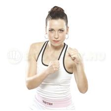 Top Ten Box felső, női, TOP TEN, fehér boksz és harcművészeti eszköz