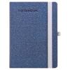TOPTIMER Notebook Zen, A5 keskenyitett vonalas jegyzetfüzet, Kék