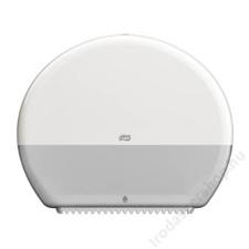 Tork Toalettpapír adagoló, T1 rendszer, műanyag, TORK Jumbo, fehér (KHH042) higiéniai papíráru