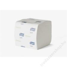 Tork Toalettpapír, T3 rendszer, 2 rétegű, 252 lap, TORK Premium soft, fehér (KHH289) higiéniai papíráru