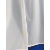 Törtfehér sable kész függöny, drapp négyzetes mintával/0016/Cikksz:01122118