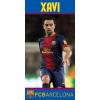 törülköző FC BARCELONA - XAVI / 140 x 70 cm