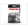 Toshiba 64 GB microSDXC™ UHS-I U3 Class 10 memóriakártya 95/80 + SD adapter - Exceria M401 Pro
