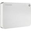 """Toshiba Canvio Premium 2.5"""" külső merevlemez, 3TB, USB3.0, ~5Gbps, HFS+, USB3.1 Type-C Adapter, Alumínium, Ezüst (HDTW230ES3CA)"""