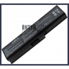 Toshiba PABAS215 4400 mAh 6 cella fekete notebook/laptop akku/akkumulátor utángyártott