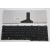Toshiba Satellite C665 fekete magyar (HU) laptop/notebook billentyűzet