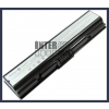 Toshiba Satellite L505-S6951 4400 mAh 6 cella fekete notebook/laptop akku/akkumulátor utángyártott