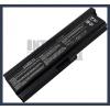 Toshiba Satellite M511 6600 mAh 9 cella fekete notebook/laptop akku/akkumulátor utángyártott