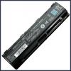 Toshiba Satellite Pro S855 6600 mAh 9 cella fekete notebook/laptop akku/akkumulátor utángyártott