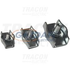 TRACON BSZ1-2 Sodronyszorító bilincs, szimpla, acél d=2-2,5mm, M4 villanyszerelés