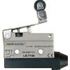 Tracon Electric Helyzetkapcsoló, rugószáras-csuklógörgő - 1xCO, 10A/250V AC, 47mm, IP40 LS7144 - Tracon