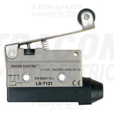 TRACON LS7121 Helyzetkapcsoló, rugószáras-görgős 1×CO, 2A/230V AC, 65mm, IP40 villanyszerelés