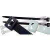 TRACON TRAC.251 Kábelkötegelő, 250x4,8 mm, fekete