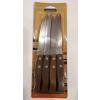 TRAMONTINA fanyelű recés steak kés, 12 db, 414001