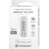 Transcend flashdrive JDG for iphone, iPad, iPod, 64GB,Lightning connector,silver