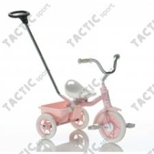 Transporter Passenger szülő vezető karos és szülő fékes tricikli - rózsaszín bébijárgány