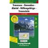 Traunsee-Gmunden-Almtal-Höllengebirge-Traunstein turistatérkép - f&b WK 5503