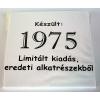 Tréfás póló 40 éves, Készült 1975...  (L)