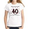 Tréfás póló 40 éves (XL)