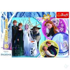 Trefl : Jégvarázs 2. 100 darabos, glitteres puzzle puzzle, kirakós