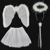 Trender Angyalka jelmez szárnyakkal szoknyával