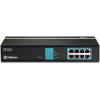 Trendnet TPE-TG81G 8-Port Gigabit GREENnet PoE rack switch
