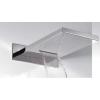 Tres Fejzuhany esőztető és vízesés funkcióval 280x550 mm, krómozott acél 134903