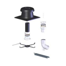 Tricox FK20 flexibilis készlet 80mm hűtés, fűtés szerelvény