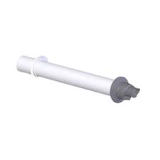 Tricox PAPA60 koncentrikus vízszintes parapet PPs/alu 80/125mm hűtés, fűtés szerelvény
