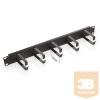 "TRITON RAB-VP-X21-A2 19""-os fém patch rendező panel 73 mm-es gyűrűkkel, 1U magas"