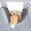 Trixie Autóba ülésvédő fekete/barna 1.40×1.45m