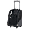 Trixie gurulós szállítótáska és hátizsák fekete/szürke (TRX2880)
