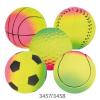 Trixie Játék neon labda 7cm