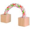 Trixie Játék Rágcsálónak Rágókötél 2 Fával 20cm