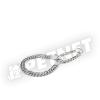 Trixie Kétsoros lánc nyakörv 60cm/2,5mm