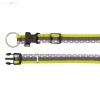 Trixie textil nyakörv freshline spot S-M 15mm/30-45 cm zöld
