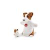 Trudi plüss báb - Kutya kicsinyével