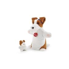 Trudi plüss báb - Kutya kicsinyével plüssfigura