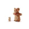 Trudi plüss báb - Medve kicsinyével