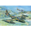 TRUMPETER US A-37A Dragonfly Light Ground-Attack repülőgép makett 02888