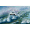TRUMPETER Vampire F.MK.5 repülőgép makett 02874
