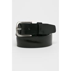 Trussardi Jeans - Bőr öv - fekete - 1330366-fekete
