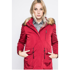 Trussardi Jeans Kapucnis kabát - piros
