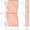 TRW Fékbetét készlet, tárcsafék TRW GDB1816