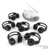 TTS Easi-Listener 2 CD lejátszó (6 standard fejhallgatóval)