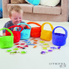 TTS Színek szerint megkülönböztethető vásárló szatyrok termékekkel