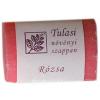 Tulasi növényi szappan, 100 g - rózsa